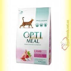Optimeal Lamb для взрослых кошек - Ягненок 4кг