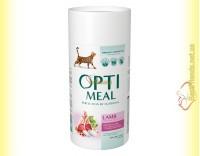 Купить Optimeal Lamb для взрослых кошек - Ягненок 650+650гр