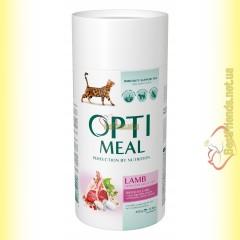 Optimeal Lamb для взрослых кошек - Ягненок 650гр