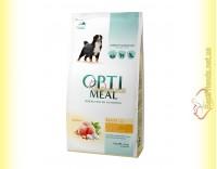 Купить Optimeal Maxi для взрослых собак крупных пород - Курица 1,5кг