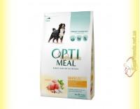 Купить Optimeal Maxi для взрослых собак крупных пород - Курица 4кг