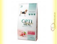 Купить Optimeal Medium для взрослых собак средних пород - Индейка 1,5кг