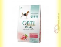 Купить Optimeal Medium для взрослых собак средних пород - Индейка 4кг