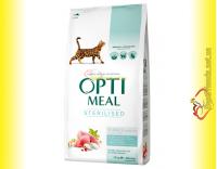 Купить Optimeal Sterilised для стерилизованных кошек - Индейка 10кг