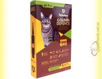 Купить Palladium GOLDEN DEFENCE капли от паразитов для кошек весом до 4кг