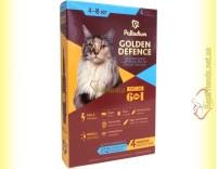 Купить Palladium GOLDEN DEFENCE капли от паразитов для кошек весом от 4 до 8кг