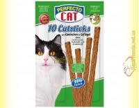 Купить Perfecto Cat палочки с кроликом и птицей для котов 10шт