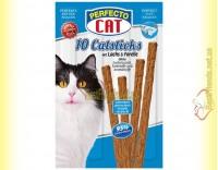 Купить Perfecto Cat палочки с лососем и форелью для котов 10шт