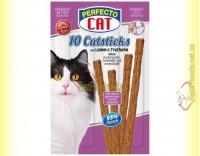 Купить Perfecto Cat палочки с ягненком и индейкой для котов 10шт