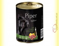 Купить Piper консерва для собак с дичью и тыквой 400гр