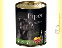 Купить Piper консерва для собак с дичью и тыквой 800гр