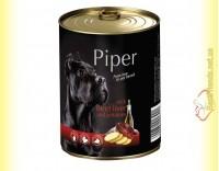 Купить Piper консерва для собак с говяжьей печенью и картофелем 400гр