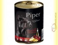 Купить Piper консерва для собак с говяжьей печенью и картофелем 800гр