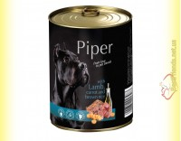Купить Piper консерва для собак с ягненком, морковью и коричневым рисом 400гр