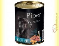 Купить Piper консерва для собак с ягненком, морковью и коричневым рисом 800гр