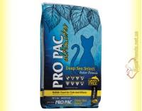 Купить Pro Pac Deep Sea Select Indoor Formula Беззерновой корм для котят и кошек с белой рыбой 6кг