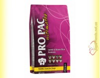 Купить Pro Pac Lamb & Brown Rice Formula корм для собак всех пород 2,5кг