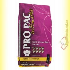Pro Pac Lamb & Brown Rice Formula 12кг