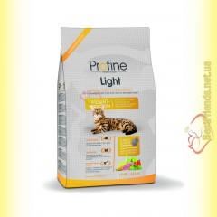 Profine Cat Light для кошек с избыточным весом с индейкой и рисом 15кг