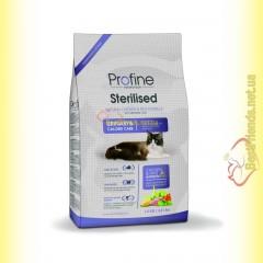 Profine Cat Sterilised для стерилизованных кошек с курицей и рисом 15кг