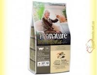 Купить Pronature Holistic с океанической белой рыбой и диким рисом сухой корм для котов 2,7кг