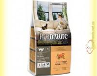 Купить Pronature Holistic с уткой и апельсинами сухой корм для котов 2,72кг