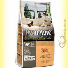 Pronature Holistic с уткой и апельсинами сухой корм для котов 2,72кг