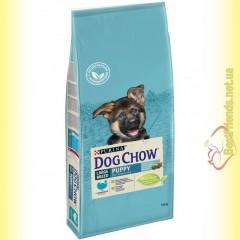 Purina Dog Chow Large Breed Puppy для щенков крупных пород с Индейкой
