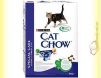 Купить Purina Cat Chow Feline 3in1 для взрослых кошек с индейкой 400гр