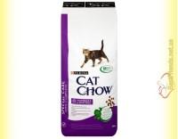 Купить Purina Cat Chow Hairball Control для выведения шерсти из желудка 15кг