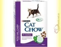 Купить Purina Cat Chow Hairball Control для выведения шерсти из желудка 400гр