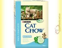 Купить Purina Cat Chow Kitten для котят с курицей 400гр