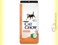 Купить Purina Cat Chow Sensitive для кошек с чувствительным пищевареньем 15кг
