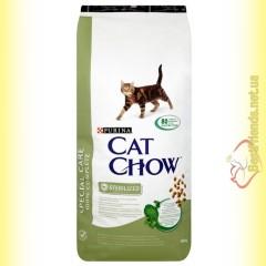 Purina Cat Chow Sterilized для стерилизованных кошек 15кг