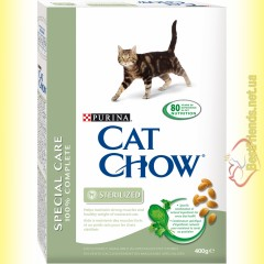 Purina Cat Chow Sterilized для стерилизованных кошек 400гр