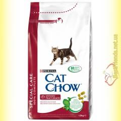 Purina Cat Chow Urinary Tract Health для профилактики мочекаменной болезни 1,5кг