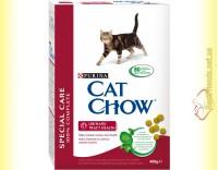 Купить Purina Cat Chow Urinary Tract Health для профилактики мочекаменной болезни 400гр