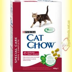 Purina Cat Chow Urinary Tract Health для профилактики мочекаменной болезни 400гр