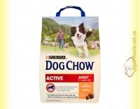 Купить Purina Dog Chow Active для взрослых активных собак с курицей 2,5кг