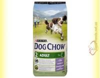 Купить Purina Dog Chow Adult Lamb для взрослых собак с ягненком и рисом 14кг