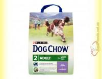 Купить Purina Dog Chow Adult Lamb для взрослых собак с ягненком и рисом 2,5,кг