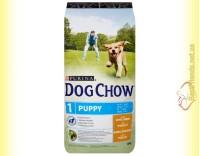 Купить Purina Dog Chow Puppy для щенков с курицей 14кг