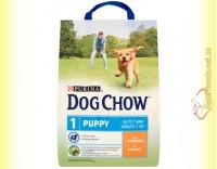Купить Purina Dog Chow Puppy для щенков с курицей 2,5кг