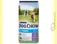 Купить Purina Dog Chow Puppy для щенков с ягненком и рисом 14кг