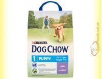 Купить Purina Dog Chow Puppy для щенков с ягненком и рисом 2,5кг