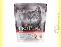 Купить Purina Pro Plan Adult Salmon для взрослых котов и кошек с лососем 400гр