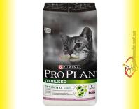 Купить Purina Pro Plan Sterilised Turkey для стерилизованных кошек с индейкой 10кг