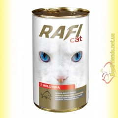 Rafi Cat консерва для кошек с говядиной 415гр