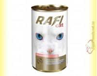 Купить Rafi Cat консерва для кошек с лососем 415гр
