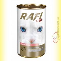 Rafi Cat консерва для кошек с лососем 415гр